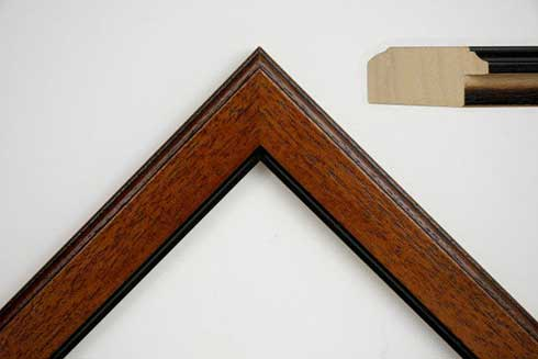 W180 Dark Wood Frame