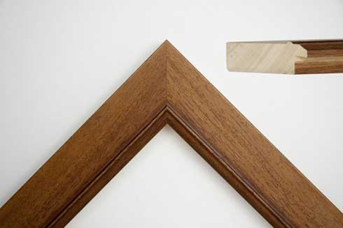 C39 Oak Wood Frame
